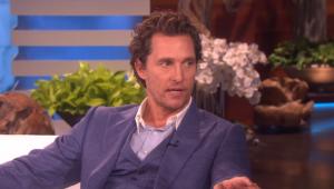 Por influência do filho, Matthew McConaughey vai a show do BTS e aprova