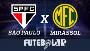 São Paulo x Mirassol: acompanhe o jogo ao vivo na Jovem Pan