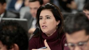 Tebet critica 'vale-tudo' eleitoral e crê em derrubada: 'Tenho que acreditar no bom senso dos meus colegas'