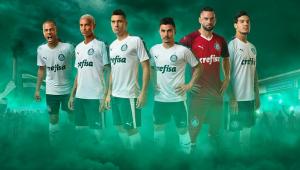 cde0534ea7907 Palmeiras divulga novo uniforme com provocação a rivais - Aprizion