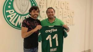 Palmeiras contrata Ricardo Goulart por empréstimo e tem opção de compra