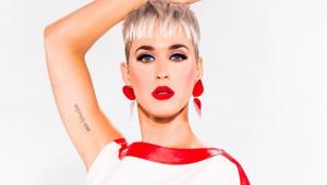 Katy Perry mostra suspensão que tomou por simular sexo com árvore