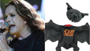 Ozzy Osbourne lança pelúcia que perde a cabeça para comemorar mordida em morcego