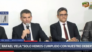 Os promotores peruanos Rafael Vela Barba e José Domingo Pérez foram demitidos na segunda-feira (31) pelo procurador-geral do país, Pedro Chavarry