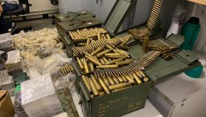 Polícia prende suspeito de ser principal fornecedor de munição para crime organizado