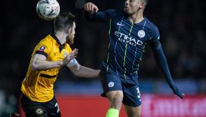 Gabriel Jesus participa de 1º gol e Manchester City elimina time da 3ª divisão