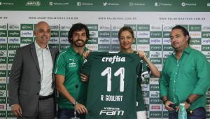 Passagem de Ricardo Goulart no Palmeiras dura quatro meses; meia marcou 4 gols em 12 jogos