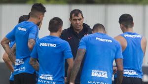 Corinthians se reapresenta, e Carille não esboça time que enfrenta o São Paulo domingo