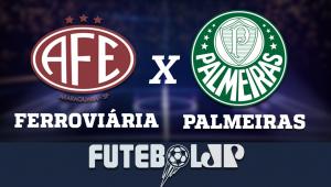FerroviáriaxPalmeiras: acompanhe o jogo ao vivo na Jovem Pan