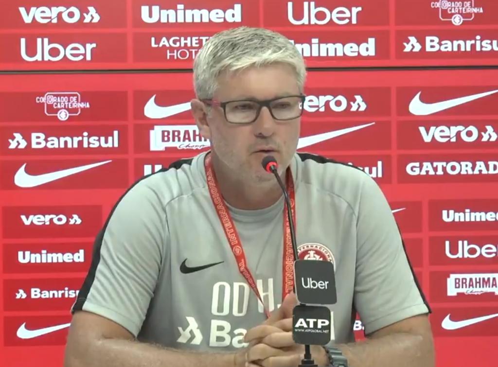 8f675b78c9 Técnico do Inter lamenta tragédia no CT do Flamengo e interrupção de ...