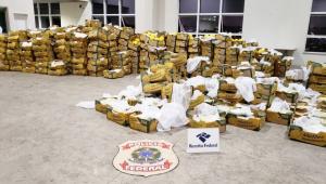 PF apreende mais de três toneladas de cocaína em Porto de Natal, no RN
