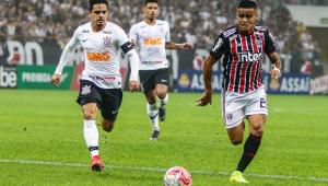 Everton sofre estiramento na coxa e vira desfalque no São Paulo