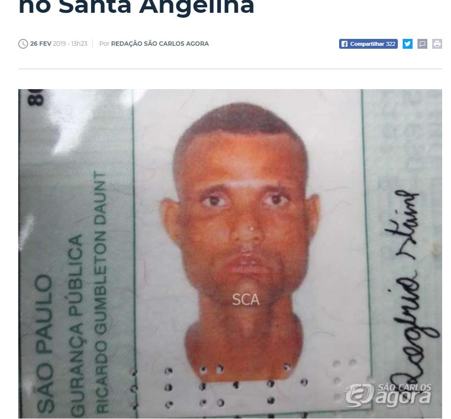 Resultado de imagem para Homem estupra mulher, mata outra a tiros e se enforca em São Carlos