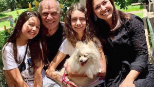 Viúva posta foto da cachorra esperando pela chegada de Boechat