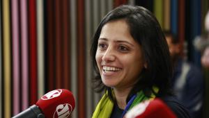 'O povo brasileiro é o melhor que já vi na vida', diz a apátrida Maha Mamo