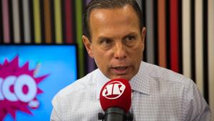 'Não é razoável que os filhos interfiram no governo', diz Doria sobre crise na gestão Bolsonaro