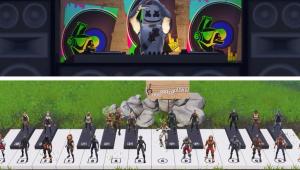 Incrível! 24 Jogadores de 'Fortnite' improvisam hit 'Happier'; confira