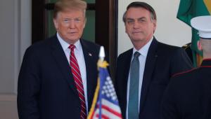 Bolsonaro tem encontro com Trump