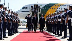 No Chile, Bolsonaro participa nesta sexta (22) de cúpula de países sul-americanos
