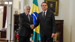Brasil e Chile descartam intervenção militar na Venezuela e firmam compromissos