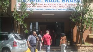 Tiroteio na escola estadual Raul Brasil, no Jardim Imperador, em Suzano, na Grande São Paulo, nesta quarta-feira (13)