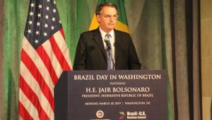 Debate sobre Bolsonaro e os EUA