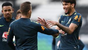 Seleção Brasileira faz primeiro treino visando o Panamá sem Everton e Fagner