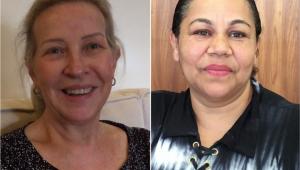 A promotora aposentada Liliana Buff e a faxineira Joelma Profeta dos Santos enfrentaram o mesmo desafio: o descrédito por serem mulheres