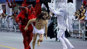 Gaviões não terá que se retratar por triunfo do diabo sobre Jesus no carnaval, decide juiz
