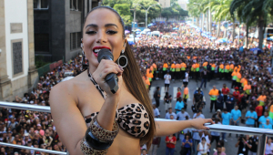 Anitta é flagrada gravando clipe com Ludmilla e Snoop Dogg nos EUA