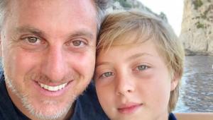 Filho de Angélica e Huck recebe alta do hospital após fratura craniana