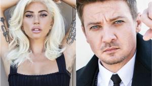 Tá rolando? Lady Gaga é vista com Jeremy Renner