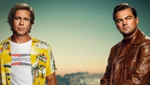 'Once Upon a Time in Hollywood':Leo DiCaprio e Brad Pitt aparecem em 1º pôster de novo filme de Tarantino