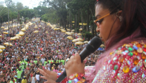 Preta Gil mistura funk, samba e axé para fechar o pós-carnaval no Ibirapuera