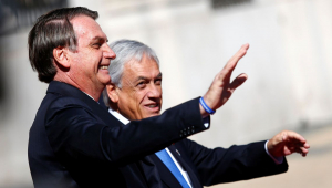 """""""Será um fórum de diálogo direto e sem ideologia"""", diz Piñera sobre criação do Prosul"""