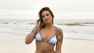 'A Fazenda': Tati Dias é a quarta eliminada do reality show