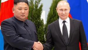O líder da Coreia do Norte, Kim Jong-un, e o presidente da Rússia, Vladimir Putin, se reuniram, pela primeira vez, nesta quinta-feira (25) na cidade russa de Vladivostk