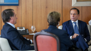 Bolsonaro deve ir à inauguração de escritório comercial na China, diz Doria