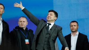 Comediante Vladimir Zelenski é o novo presidente da Ucrânia