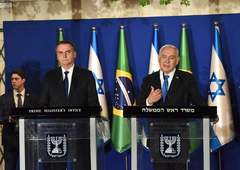 'Nunca esqueceremos', diz Bolsonaro sobre apoio de Israel durante resgates de Brumadinho