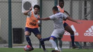 Cuca estuda se Pato será titular ou reserva contra o Bahia