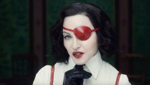 'Queria que parecesse uma pintura', diz Madonna sobre clipe 'Medellín'