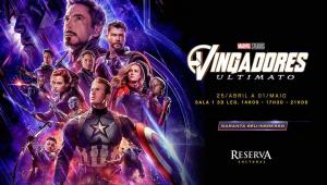 Cinema cult anuncia exibição de 'Vingadores: Ultimato' e revolta público em SP