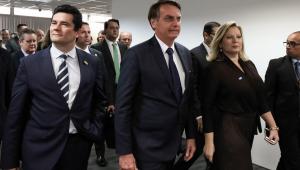 Bolsonaro: 'Também não tenho apego ao cargo e Moro não sai'