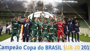 Geração sub-20 do Palmeiras completa 3 títulos inéditos, mas não supera maior desafio