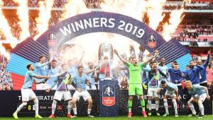 Goleada! City vence de 6 a 0 na Copa da Inglaterra e conquista inédita 'tríplice coroa'