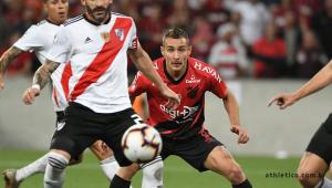 Furacão vence River Plate na Arena da Baixada e fica a um empate de título da Recopa