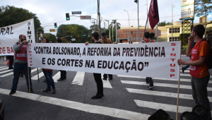 Alexandre Borges: Hoje tem paralisação na Escolinha do Professor Grevista