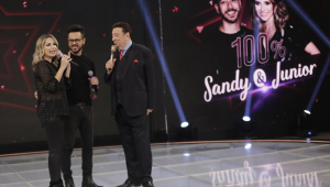 Raul Gil promoverá concurso de covers de Sandy e Junior no SBT