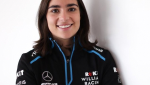 Britânica vira pilota de desenvolvimento da Williams na Fórmula 1